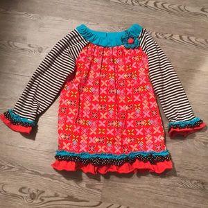 Rare Editions little girls shirt size 6X